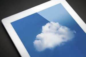 Mobile-tablet-with-a-cloud