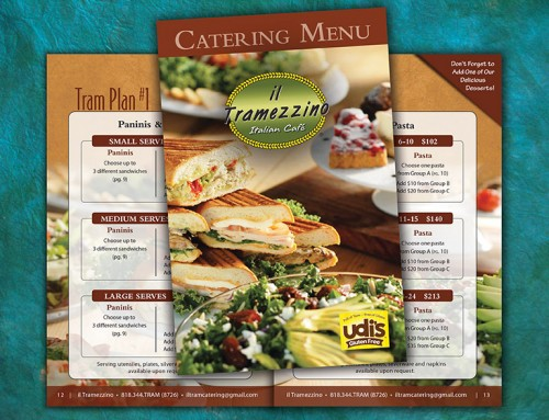 Restaurant Catering Menu