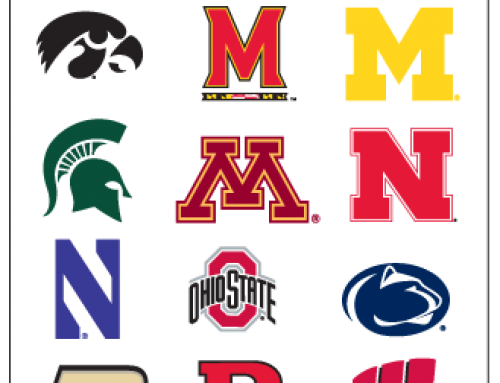 Big Ten Club Pop-Up Banner