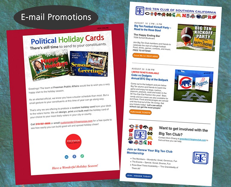 Email Marketing Promotions