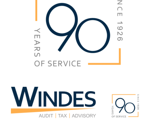 Windes & McClaughry 90th Anniversary Logo