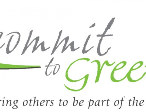 I Commit To Green Logo