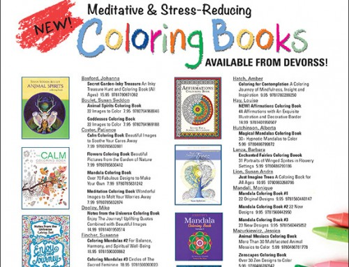 DeVorss Coloring Book Flyer