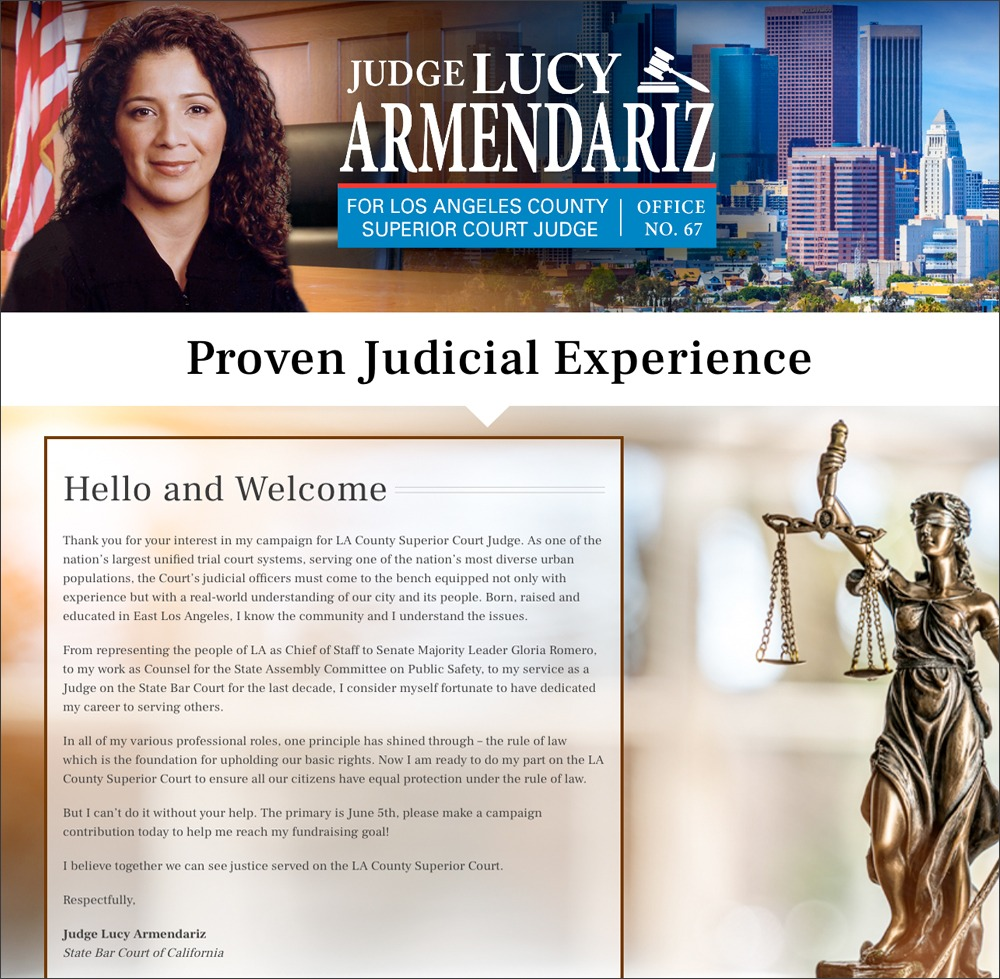 Judge Lucy Website
