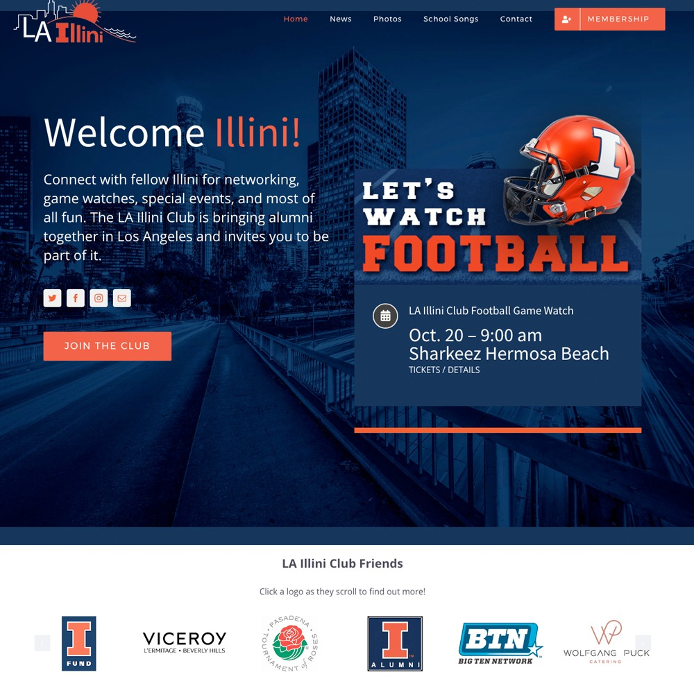 LA Illini Alumni Website